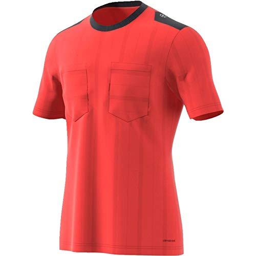adidas UCL Ref JSY Camiseta Arbitraje UEFA Champions League, Hombre, Rojo (Rojbri/Rojbri), M