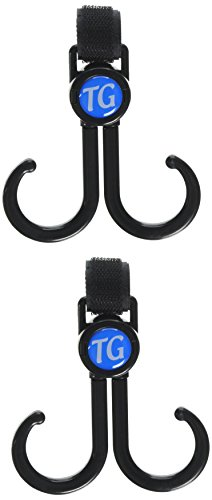 Top Glides Double-Sided Walker Hooks - 2 Pairs