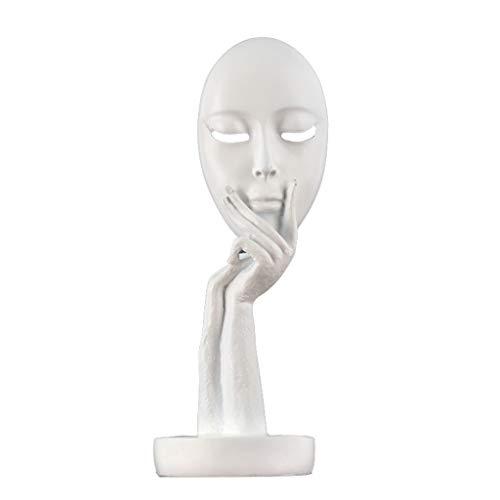 DECORACION FHW Hogar Sala de Estar Vinoteca Hogar Dormitorio Habitación Personalidad Escultura Artesanía 12 * 10.5 * 28.5cm / 14.5 * 12 * 38cm (Color : B)