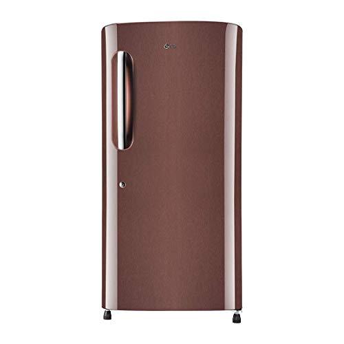 LG 215 L 4 Star Inverter Direct Cool Single Door Refrigerator (GL-B221AASY, Amber Steel)