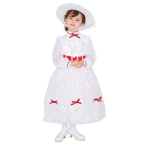 Disney Mary Poppins Costume for Girls, Size 4