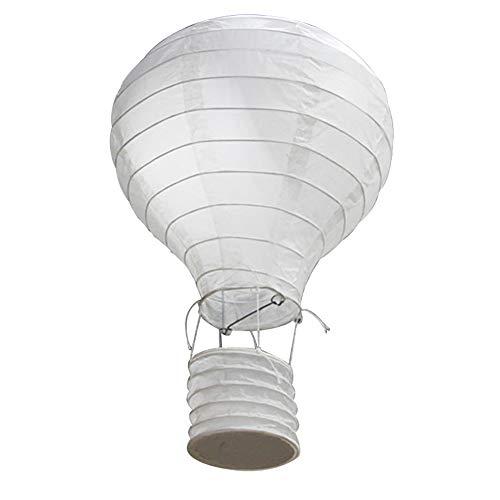 Outflower HeißLuftballon/Papierlaterne/Handgeklapptes Regenbogenlicht - Geeignet FüR Geburtstagsfeierdekoration/Hochzeit Hochzeitsdekoration