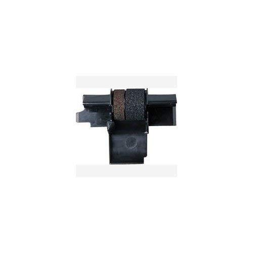6 Pack Compatible Seiko IR-40T Black / Red Ink Rollers , Works for SHARP EL1801P, SHARP EL1801PIII, SHARP EL2192, SHARP EL2620