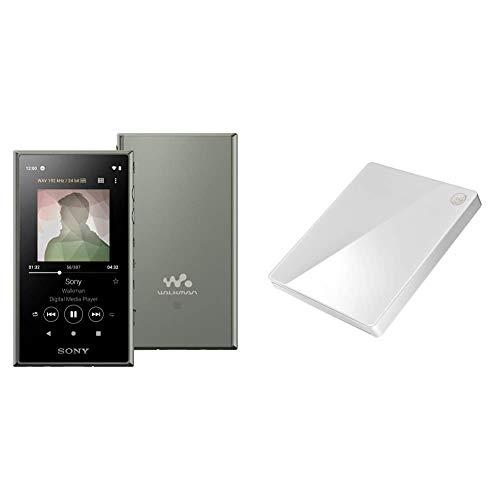 【ウォークマンとCDレコ(WiFiモデル)セット】SONY ウォークマン 16GB Aシリーズ NW-A105 アッシュグリーン NW-A105 GとI-O DATA WiFiモデル 「CDレコ5」 ホワイト CD-5WW