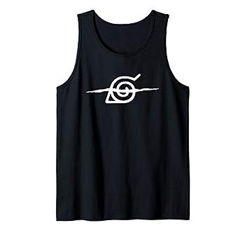 Naruto Shippuden Anti Leaf Symbol Tank Top