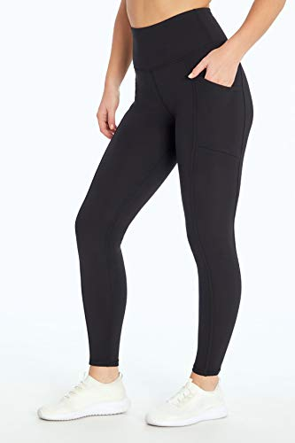 Marika Women's Standard Cameron High Rise Tummy Control Legging, Black, Medium