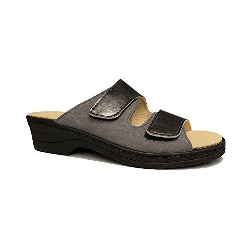Algemare Damen Pantolette, Größen Schuhe :40 EU