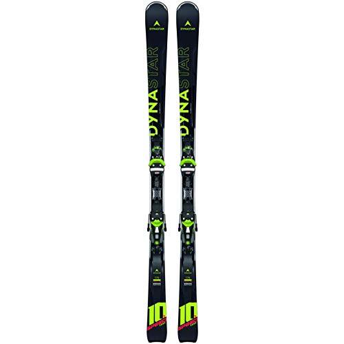 DYNASTAR Speed Zone 10 TI (KONECT) + NX Ensemble de Ski All Mountain avec Fixation, Adultes Unisexe, Noir, 175 cm