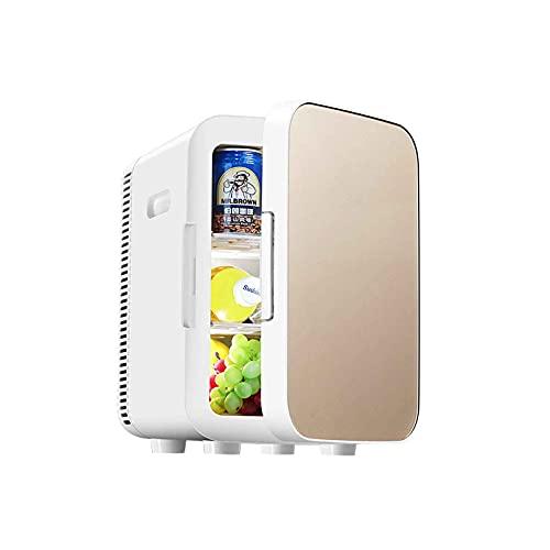 yankai Mini Nevera 13.5 L para Refrigerador Portátil para Automóvil Congelador (-28 ℃ ~ 65 ℃) Refrigeración Y Calefacción Silenciosas, Adecuado para Automóviles, Vehículos Recreativos Y Hogares