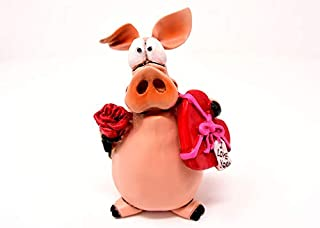 Photography Poster - Piglet, Figure, Lucky Pig, Love, 24