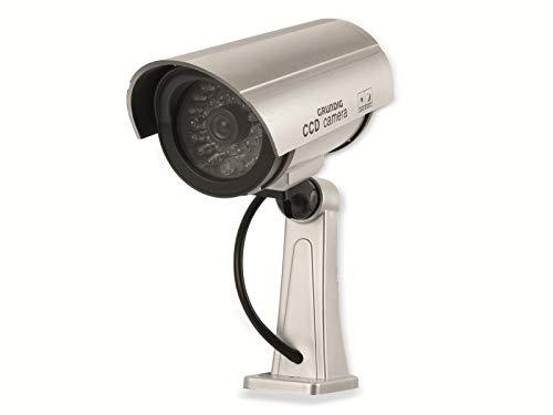 Grundig LED CCD Kabellose Dummy Attrappe Kamera Sicherheitskamera Überwachungskamera Drahtlos