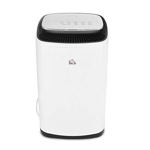 Oddity Dehumidifier 20Ltr/Day with Digital Humidity Display & Control, Dehumidifier with 24 Hour Timer for Damp, Moisture, Condensation in Home, Kitchen, Bedroom, Bathroom, Basement, Garage, Office