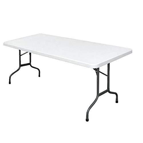 Bolero U579 - Mesa multiusos rectangular plegable Bolero 183 cm