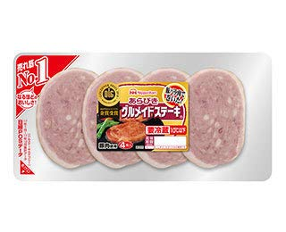 [冷蔵] 日本ハム あらびきグルメイドステーキ 208g 【10パック】