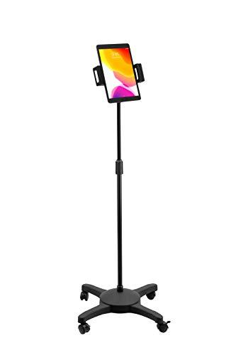 "CTA Digital: Universal Quick Connect Floor Stand for iPad mini 5, iPad Gen 7 (2019), iPad Pro 12.9 Gen 4 (2020), Galaxy Tab S3 9.7"", Galaxy Tab A (2019) & more"