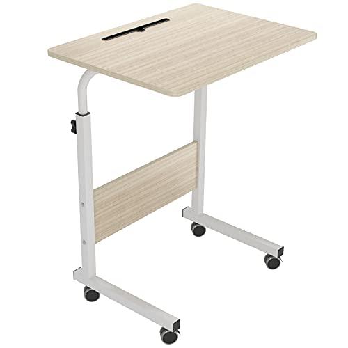 SogesHome Mesa de Ordenador Portatil60 * 40cm con Ranura para Tableta,Escritorio de Altura Regulable,Mesa Auxiliar portátil para sofá Cama,05#3-60MP-SH