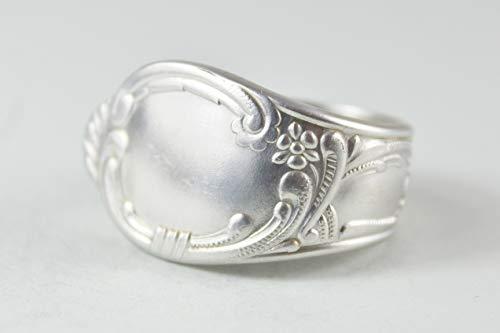 Rokoko Besteck Schmuck Ring, ca. 63 (20) Ring aus Besteck