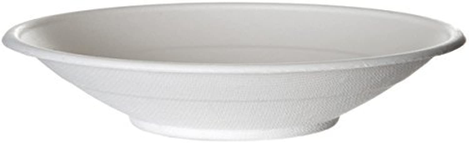 Eco-Products, Inc EP-BL16-N 16 oz. Compostable Sugarcane Bowl, Hot and Cold Noodle Bowl (Pack of 400)