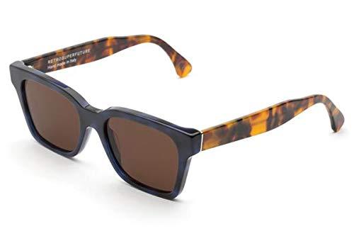 Retrosuperfuture Gafas de sol 8BA América Azules de la habana azul marrón tamaño de 52 mm de gafas de sol unisex