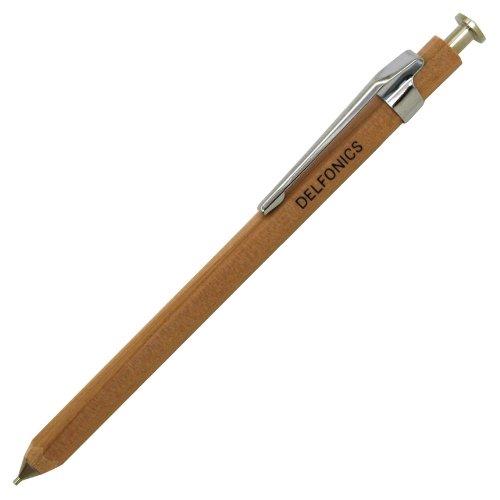 Delfonics wooden 0.5mm mechanical pencil mini[natural]AP02 NA