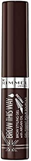 Rimmel Brow This Way Brow Styling Gel - 3.5 g, 003 Dark Brown