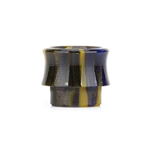LITAO-EC, Farbharz 810 Tropfspitzenmundstück Für E-Zigarette 810 Zerstäuber Fit Goon V1.5/528 RDA-Puls 24 BF RDA RDTA Etc, Frei von Tabak und Nikotin (Farbe : Yellow in Colorful)