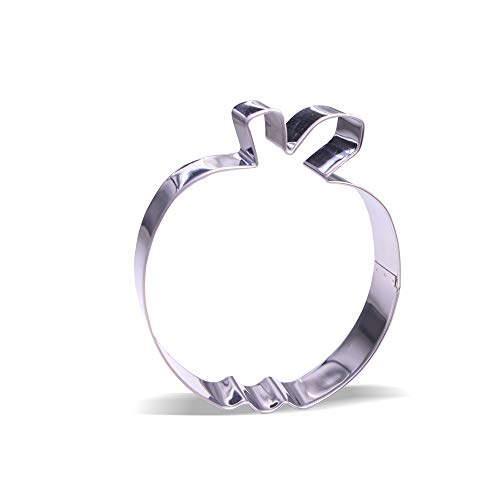 4.25 inch Apple Cookie Cutter - Stainless Steel