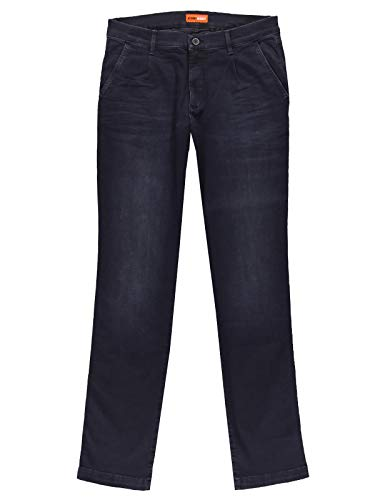 emilio adani Herren Basic Jeans aus High Stretch-Material, 30151, Blau in Größe 32/32