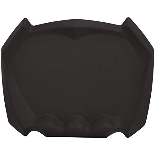 AmazonBasics ergonomische Anti-Ermüdungsmatte für Stehschreibtische, Büromatte, akupunkturstimulierende Oberfläche, 80 x 62,5 x 7,6 cm, Schwarz