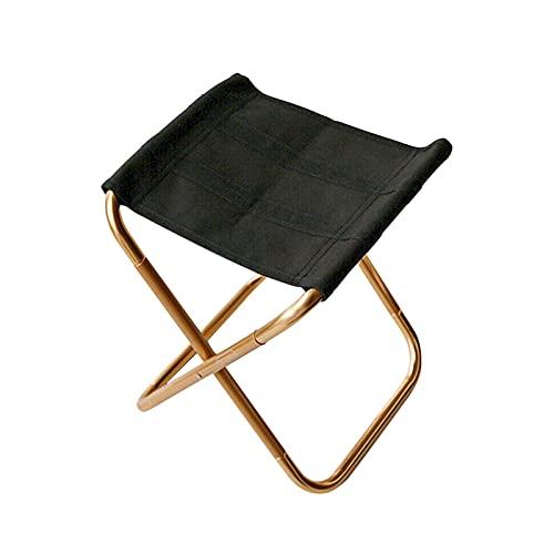 Movkzacv - Sedia da campeggio pieghevole tascabile, sedia pieghevole da pesca, leggera, portatile, per escursionismo, pesca, giardinaggio, zaino in spalla, spiaggia, barbecue, campeggio