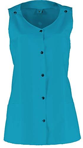 Whitewear Schürze Moni Kasack Überwurf-Kasacks Schwestern-Kittel OP Pflege bunt Gr. XS Hawai Blue