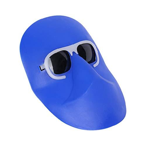 S-TROUBLE Máscara de Soldadura Banda elástica Cabeza Usable Medio Casco Gorra de Arco de argón Protección de Ojos Soldadores Protector Facial Protector de Cabeza