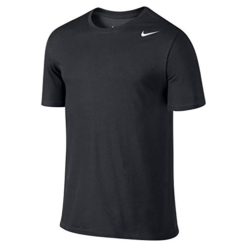 Nike Herren Dri-Fit Cotton Kurzarm 2.0 T-Shirt, Schwarz (Schwarz (Schwarz-Weiss)), XXL