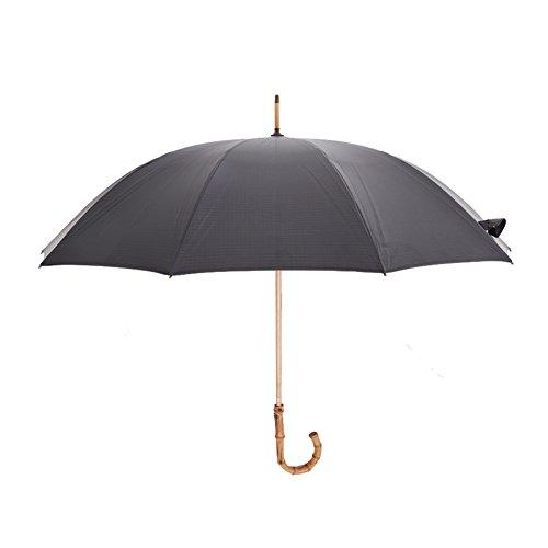 ZHUSAN Paraplu Lange Handvat Met 10 Ribs Business Oversize Sterke Houten Paal Gebogen Haak Winddicht Grote Vouwen Golf Parasol Eenvoudige