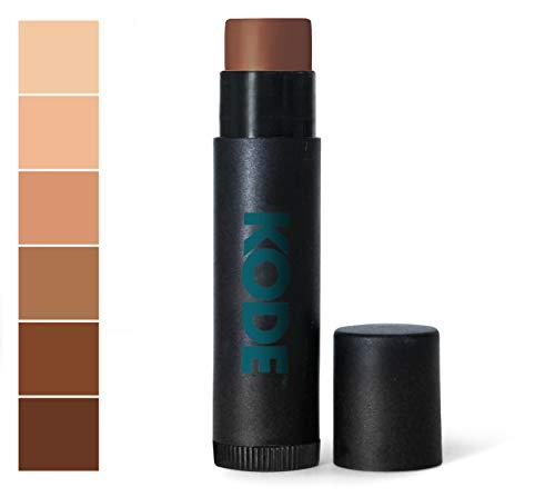 KODE Mens Concealer Stick for Blemish, Acne, Dark Circles, and Scars - Darkest - 0.15 oz