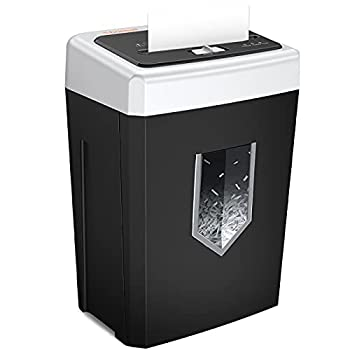 Bonsaii 14-Sheet Cross-Cut Office Paper Shredder 30-Minute Continuous Running Time Credit Card/Staples Shredders for Home Use Heavy Duty Quiet Shredding Machine with Jam Proof System  C169-B