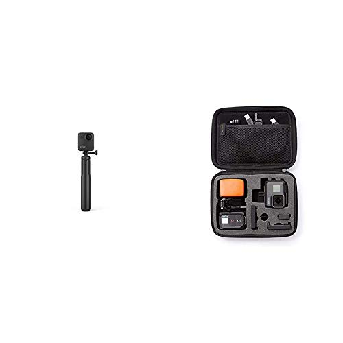 GoPro Max Grip Tripod Official Accessory black Amazon Basics GoPro Carrying Case Small