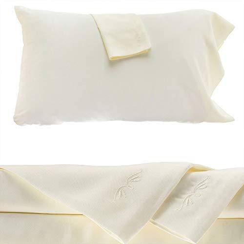 Bedvoyage Eco Resort Linen Collection Juego de sábanas 100% rayón de bambú, de alta calidad, similares a las de los balnearios y hoteles de lujo