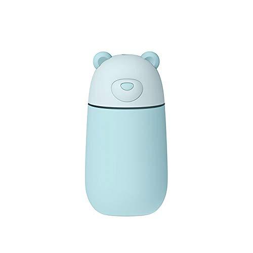 Humidificador para el hogar, dormitorio, difusores de relleno superior y humidificador ultrasónico, funcionamiento silencioso, color azul