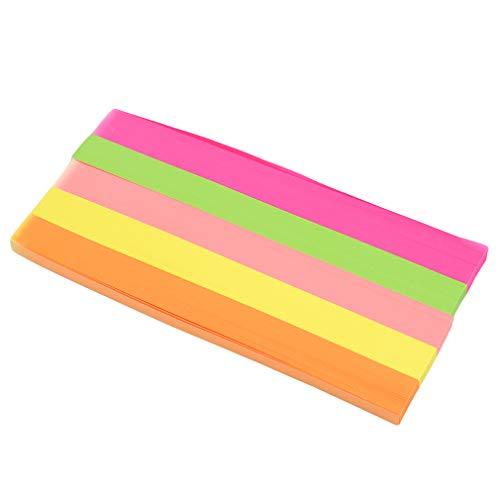 Yeucan 540 piezas de papel para manualidades con origami, decoración para el hogar, papel, Fluorescencia 5, As show