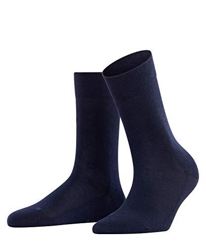 FALKE Damen Socken Sensitive London, 1 Paar, Blau (Dark Navy 6379), 39-42