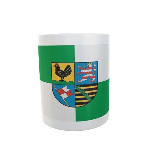 U24 Tasse Kaffeebecher Mug Cup Flagge Landkreis Schmalkalden-Meiningen