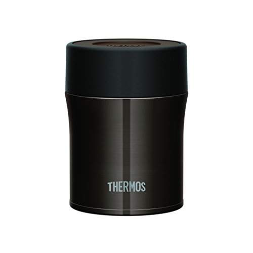 THERMOS 真空断熱フードコンテナー 0.5L ブラック JBM-500 BK