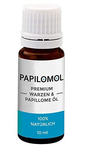 Papilomol Öl | Das Original | Warzen & Papillome Öl - Hochdosiert | 1 Flasche