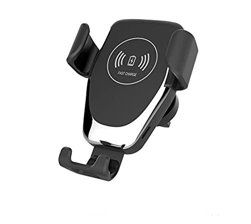 XIAOQIN BOMY Soporte de Cargador de Carga rápida inalámbrico de 10W para iPhone 11 Pro MAX XS 8 Coche Wireless Charger Quick Soporte Fit para Samsung S9 S10 S20 (Color : 1pcs)