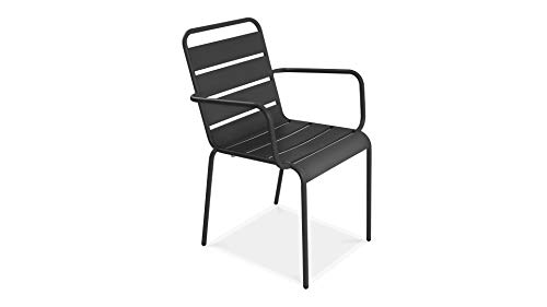 Oviala Chaise de Jardin en métal, Palavas