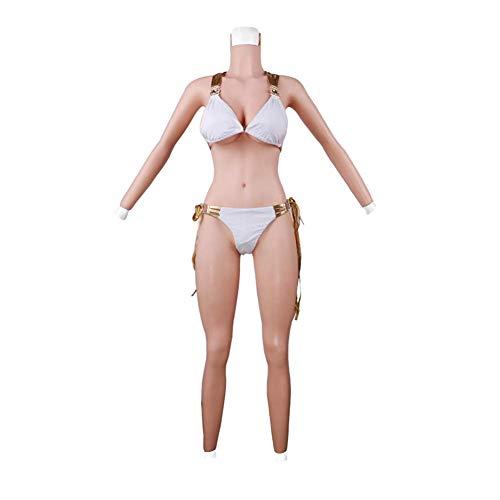 VOCD Silikon - BH Silikon Büsten-Pad Transvestismus, Cos, künstliche Brüste, die Transvestiten, männliche künstliche Brüste, Silikon männliche künstliche Brüste für Männer Frauen falsche brüste