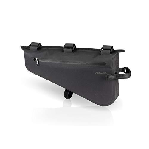 XLC Unisex– Erwachsene Rahmentasche wasserdicht Packtasche, schwarz, 1size