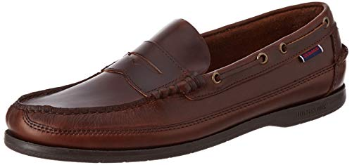 Sebago Sloop, Mocasines náuticos, marrón
