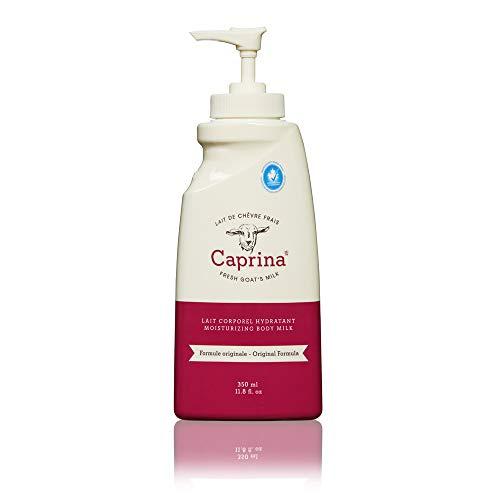 Caprina by Canus, Fresh Goat's Milk Body Lotion, Original Formula, 11.8 Ounce